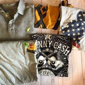 Men's Size Large Shirt bundle